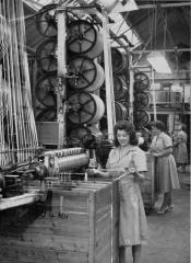 The dyehouse at Clutsom and Kemp in the late 1950s (copyright Coalville Heritage Society - do not use without permission)