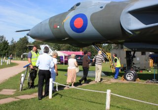 Vulcan Bomber at East Midlands Aeropark