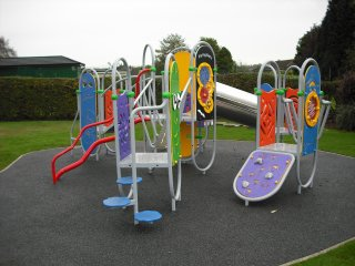 Whitwick park play area