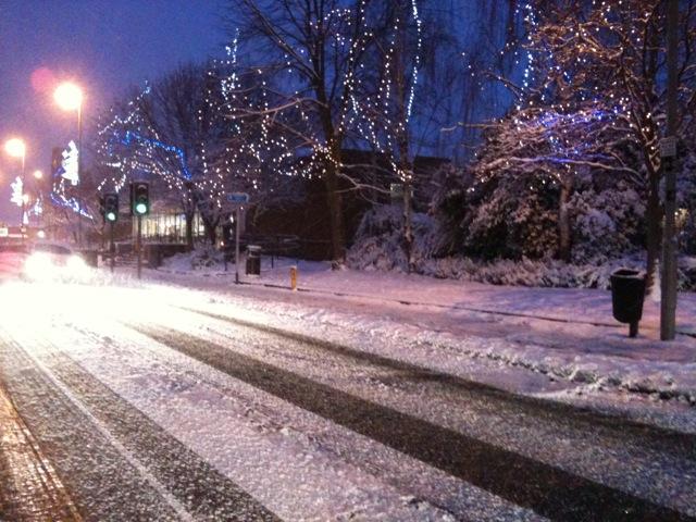 Snow in Coalville